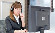 専門スタッフによる電話受注[画像01]